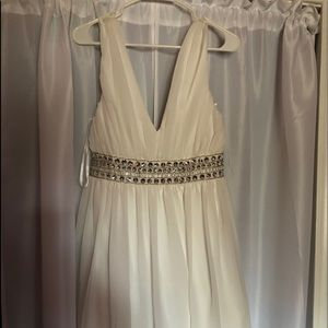 Dresses & Skirts - White sequin dress new with tags